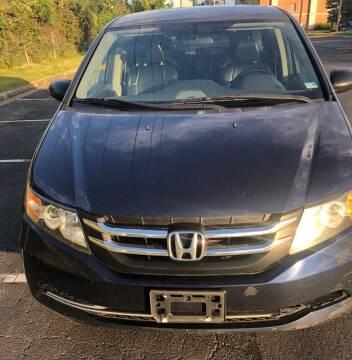 2016 Honda Odyssey for sale at Richmond Auto Sales LLC in Richmond VA