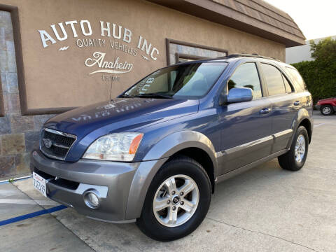 2004 Kia Sorento for sale at Auto Hub, Inc. in Anaheim CA