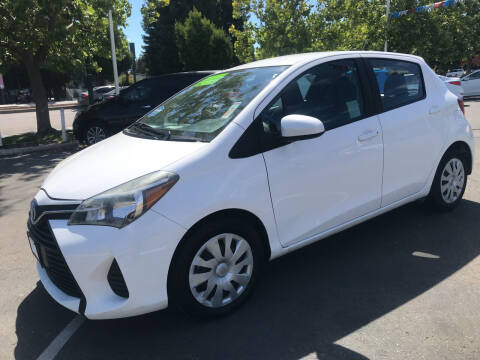 2015 Toyota Yaris for sale at Autos Wholesale in Hayward CA