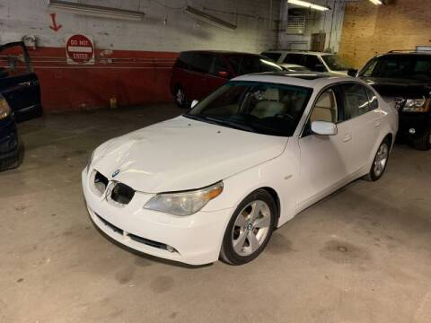 2007 BMW 5 Series for sale at Illinois Auto Sales in Paterson NJ