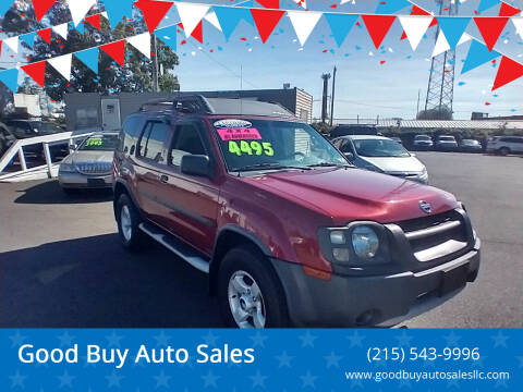 2004 Nissan Xterra for sale at Good Buy Auto Sales in Philadelphia PA