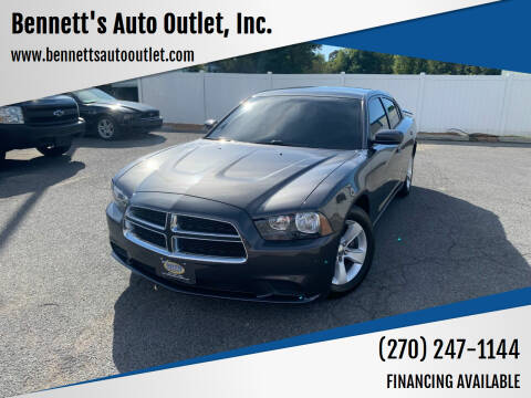 2014 Dodge Charger for sale at Bennett's Auto Outlet, Inc. in Mayfield KY