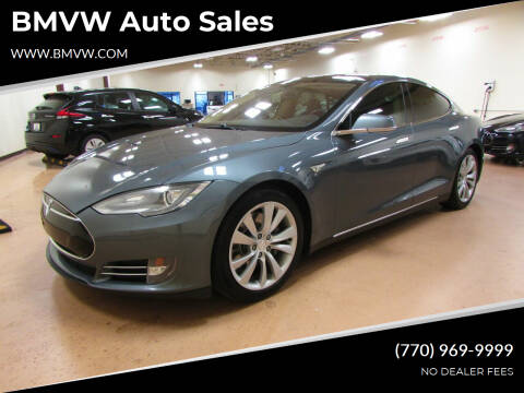 2013 Tesla Model S for sale at BMVW Auto Sales in Union City GA