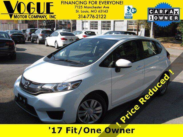 2017 Honda Fit for sale at Vogue Motor Company Inc in Saint Louis MO
