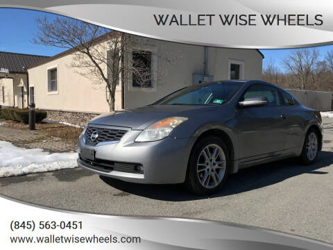 2008 Nissan Altima for sale at Wallet Wise Wheels in Montgomery NY