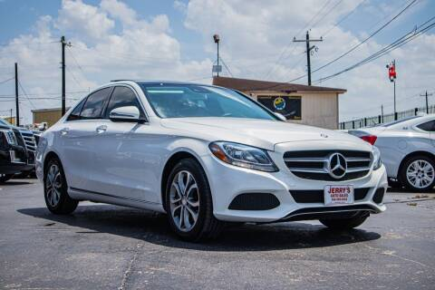 2017 Mercedes-Benz C-Class for sale at Jerrys Auto Sales in San Benito TX