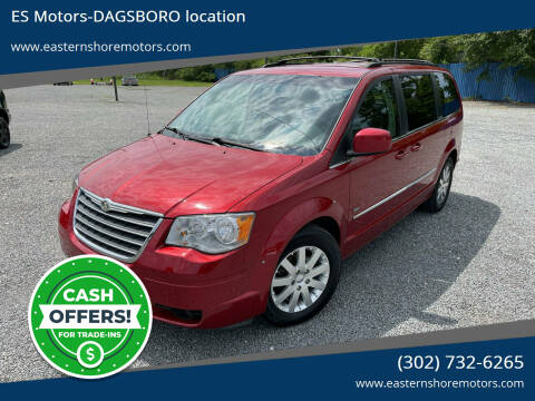2009 Chrysler Town and Country for sale at ES Motors-DAGSBORO location in Dagsboro DE