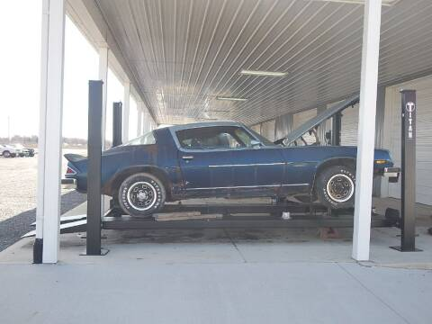 1976 Chevrolet Camaro for sale at Custom Rods and Muscle in Celina OH