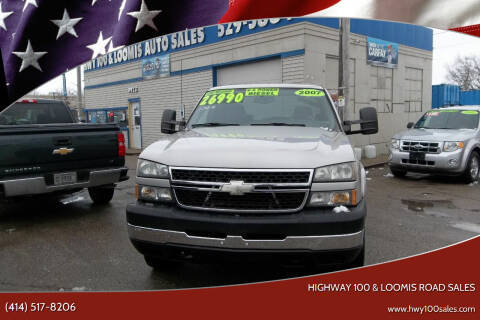 2007 Chevrolet Silverado 2500HD Classic for sale at Highway 100 & Loomis Road Sales in Franklin WI