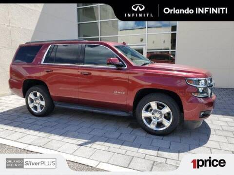 2016 Chevrolet Tahoe for sale at Orlando Infiniti in Orlando FL