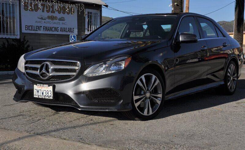 2016 Mercedes-Benz E-Class for sale at AMC Auto Sales, Inc. in Fremont CA