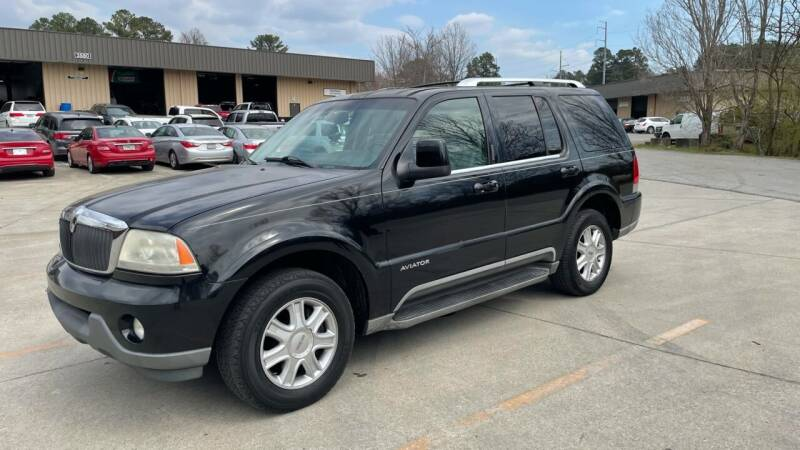 2004 Lincoln Aviator for sale at A Lot of Used Cars in Suwanee GA