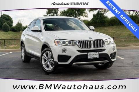 2016 BMW X4 for sale at Autohaus Group of St. Louis MO - 3015 South Hanley Road Lot in Saint Louis MO
