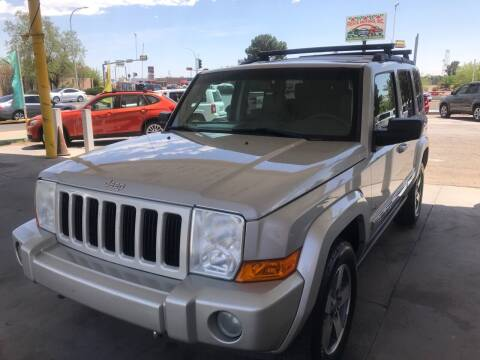 2006 Jeep Commander for sale at Fiesta Motors Inc in Las Cruces NM