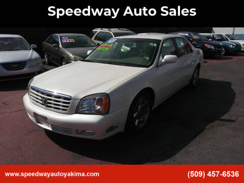 2000 Cadillac DeVille for sale at Speedway Auto Sales in Yakima WA