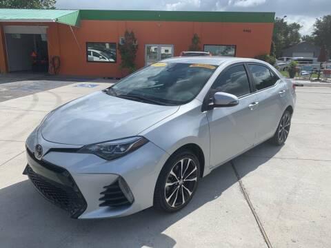2019 Toyota Corolla for sale at Galaxy Auto Service, Inc. in Orlando FL