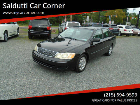 2001 Toyota Avalon for sale at Saldutti Car Corner in Gilbertsville PA