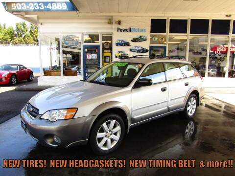 2006 Subaru Outback for sale at Powell Motors Inc in Portland OR