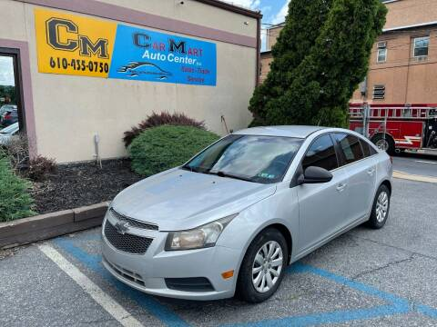 2011 Chevrolet Cruze for sale at Car Mart Auto Center II, LLC in Allentown PA