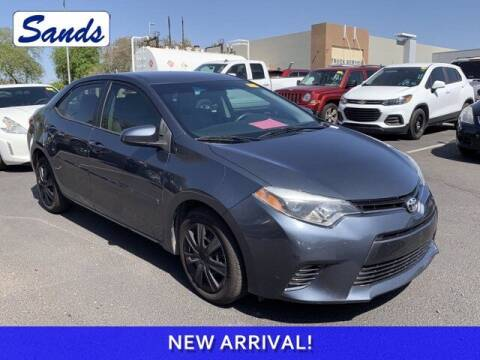 2016 Toyota Corolla for sale at Sands Chevrolet in Surprise AZ