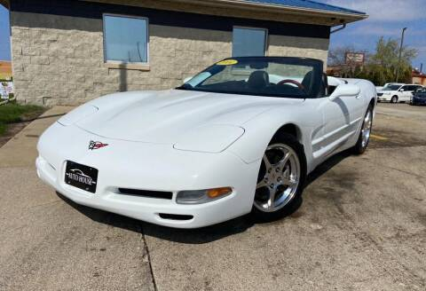 2004 Chevrolet Corvette for sale at Auto House of Bloomington in Bloomington IL