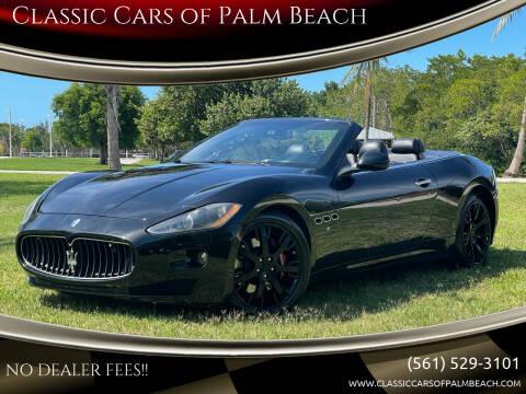 2011 Maserati GranTurismo for sale at Classic Cars of Palm Beach in Jupiter FL