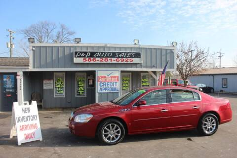 2008 Buick Lucerne for sale at D & B Auto Sales LLC in Washington Township MI