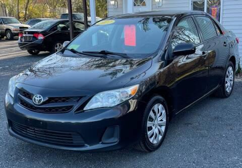 2012 Toyota Corolla for sale at Landmark Auto Sales Inc in Attleboro MA