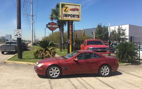 2003 Mercedes-Benz SL-Class for sale at A to Z IMPORTS in Metairie LA