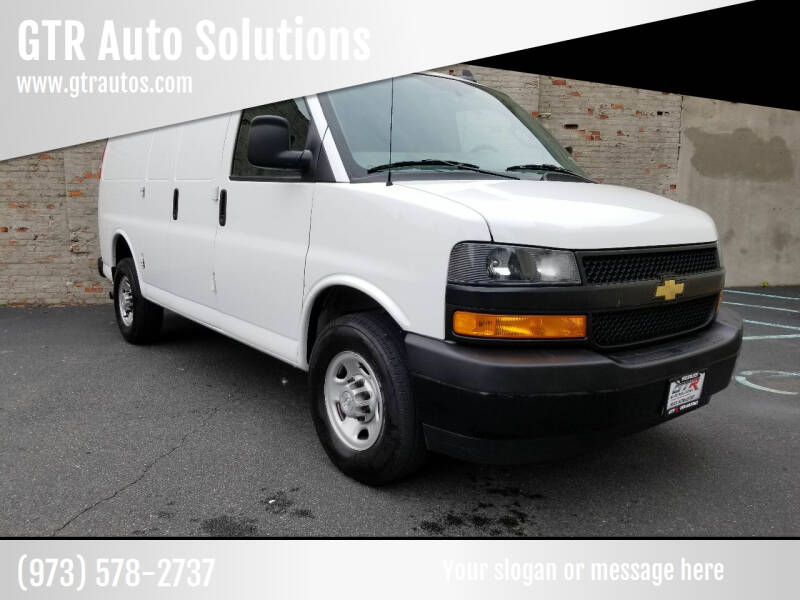 2020 Chevrolet Express Cargo for sale at GTR Auto Solutions in Newark NJ