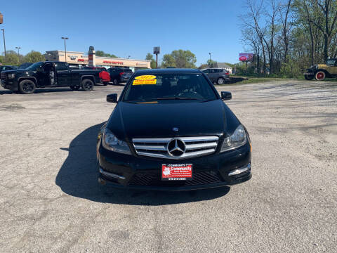 2012 Mercedes-Benz C-Class for sale at Community Auto Brokers in Crown Point IN
