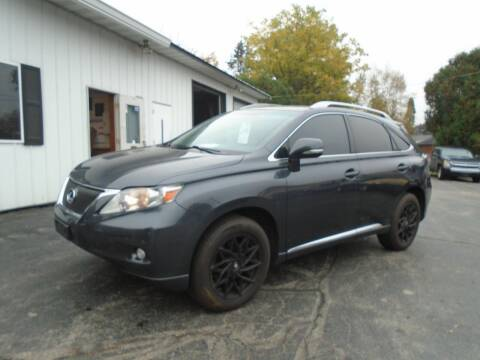 2010 Lexus RX 350 for sale at NORTHLAND AUTO SALES in Dale WI