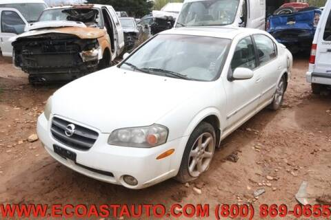 2002 Nissan Maxima for sale at East Coast Auto Source Inc. in Bedford VA