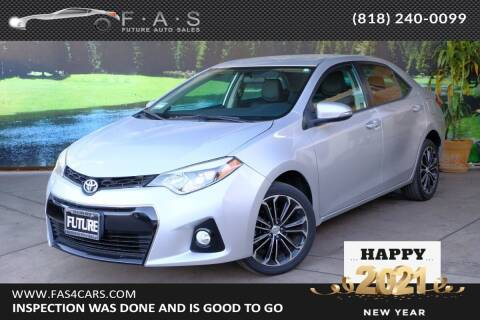 2016 Toyota Corolla for sale at Best Car Buy in Glendale CA