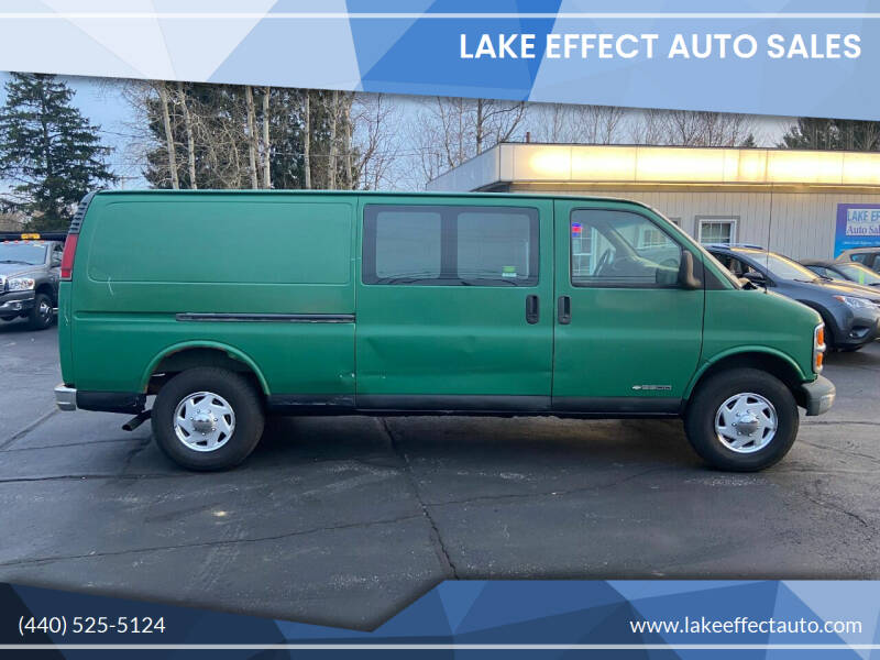 2000 Chevrolet Express Cargo for sale at Lake Effect Auto Sales in Chardon OH