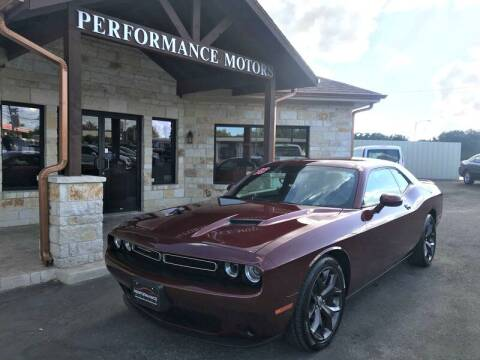 2018 Dodge Challenger for sale at Performance Motors Killeen Second Chance in Killeen TX