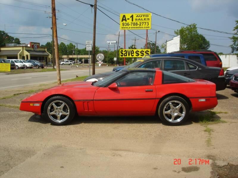 1988 Chevrolet Corvette for sale at A-1 Auto Sales in Conroe TX