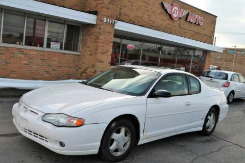 2001 Chevrolet Monte Carlo for sale at JT AUTO in Parma OH