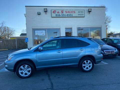 2008 Lexus RX 350 for sale at C & S SALES in Belton MO
