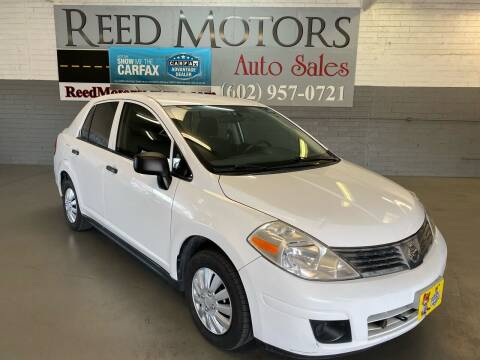 2009 Nissan Versa for sale at REED MOTORS LLC in Phoenix AZ