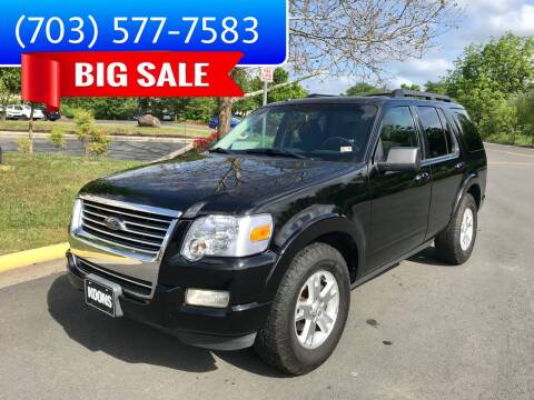 2010 Ford Explorer for sale at Dreams Auto Group LLC in Sterling VA