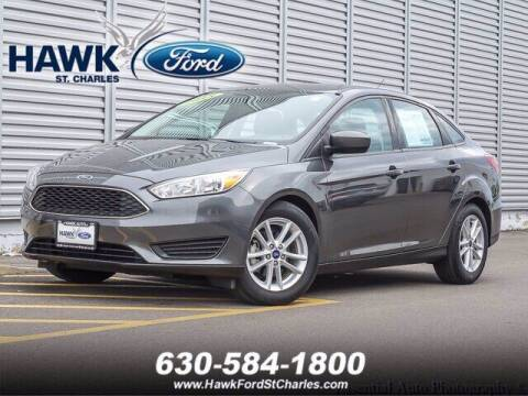 2018 Ford Focus for sale at Hawk Ford of St. Charles in St Charles IL