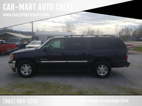 2006 GMC Yukon XL for sale at CAR-MART AUTO SALES in Maryville TN
