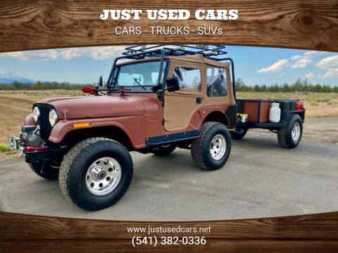 1974 Jeep CJ-5 for sale at Just Used Cars in Bend OR