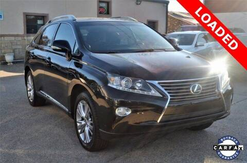 2014 Lexus RX 350 for sale at LAKESIDE MOTORS, INC. in Sachse TX