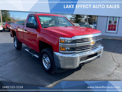 2015 Chevrolet Silverado 2500HD for sale at Lake Effect Auto Sales in Chardon OH