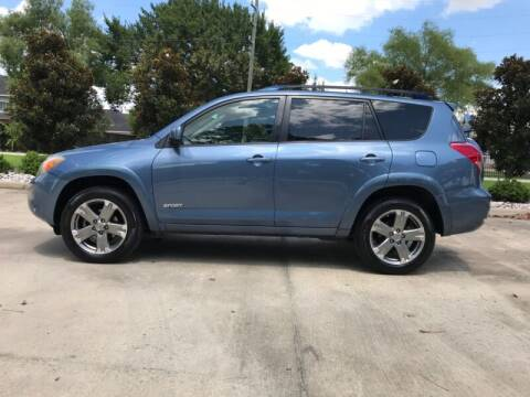 2008 Toyota RAV4 for sale at ALL AMERICAN FINANCE AND AUTO in Houston TX