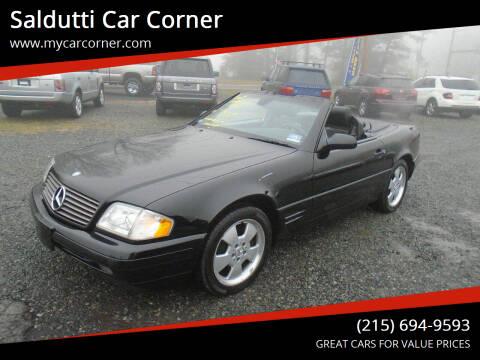 2000 Mercedes-Benz SL-Class for sale at Saldutti Car Corner in Gilbertsville PA