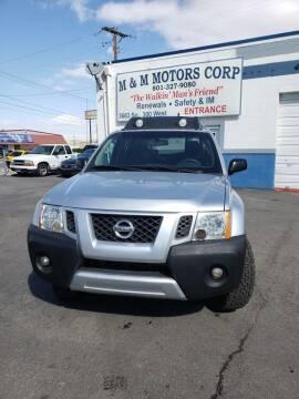 2010 Nissan Xterra for sale at M&M Motors in Salt Lake City UT