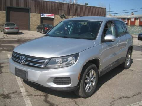 2013 Volkswagen Tiguan for sale at ELITE AUTOMOTIVE in Euclid OH